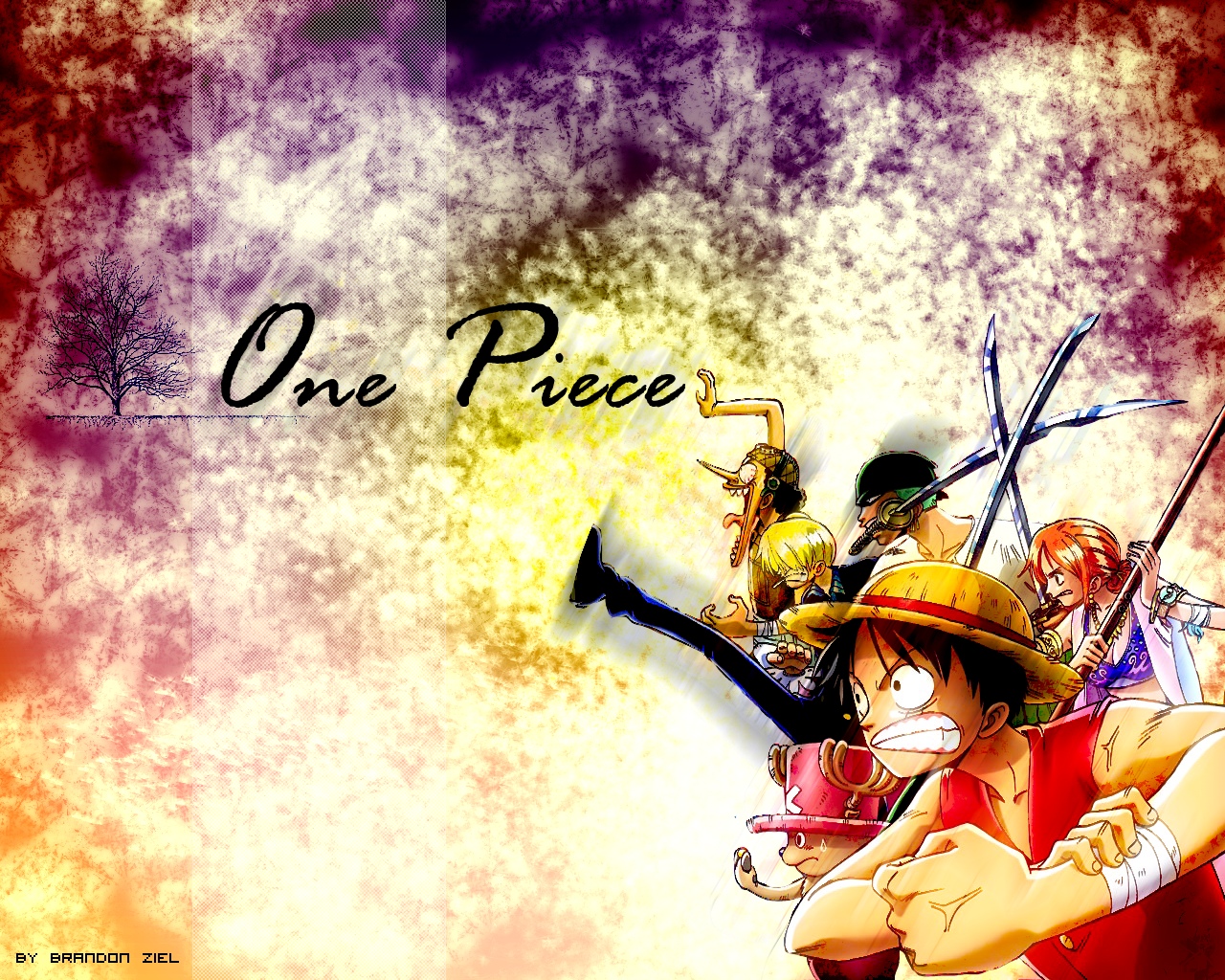 One Piece Wallpaper by leimuoro