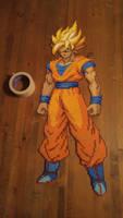 Super Saiyan Goku by Craeter