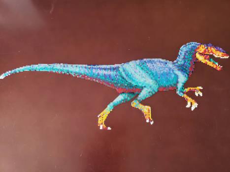 Large Allosaurus Perler