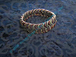 'Steampunk' Stretch Bracelet by frozenforge