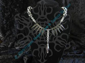 Spiky Byzantine Choker by frozenforge