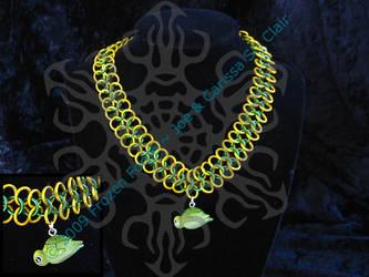 Derpy Turtle Choker by frozenforge