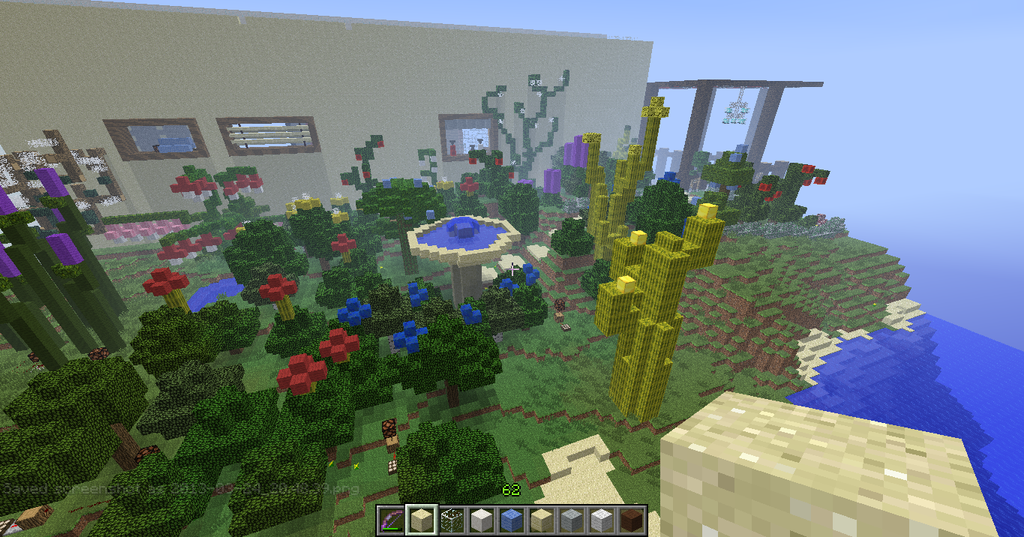 Minecraft garden by naplegray on deviantart for Garden designs minecraft