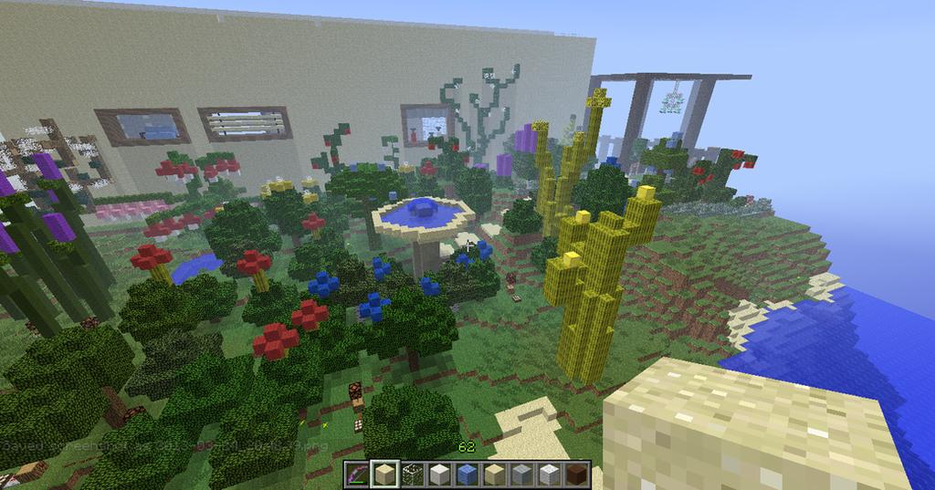 minecraft garden by naplegray - Minecraft Garden