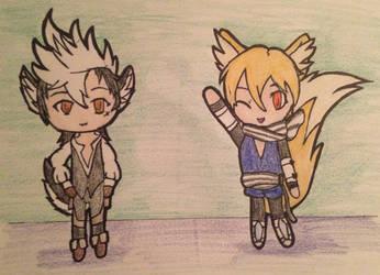 Keaton and Kaden by ShinyUmbreon0