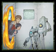 -BioShock Infinite- Wrong Door by RandomFellow