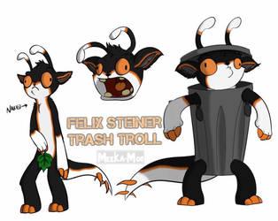 Trash Mammals by LupusKing