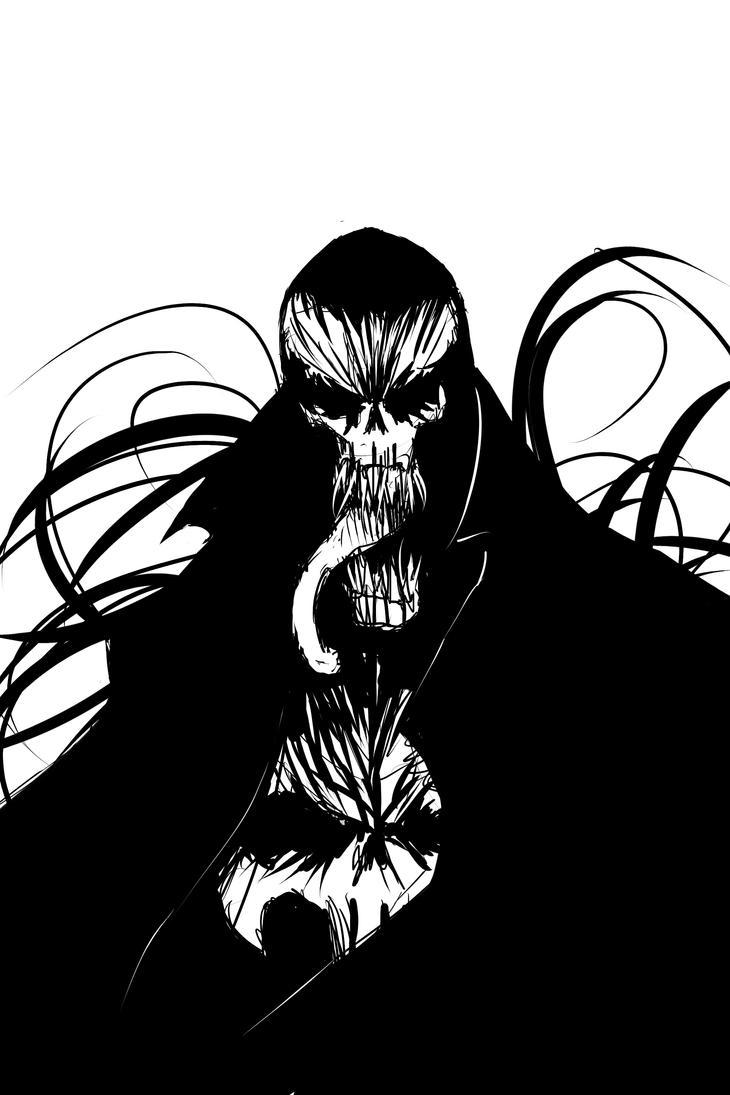 Punisher symbiote by R0XX0rZzz
