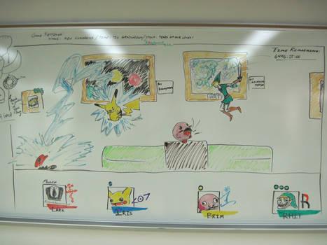 Super Smash Bros. by roseboard