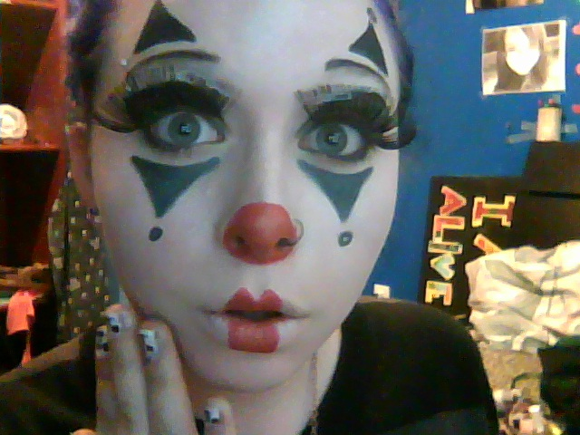 Happy Clown Makeup Ideas Cute clown makeup by