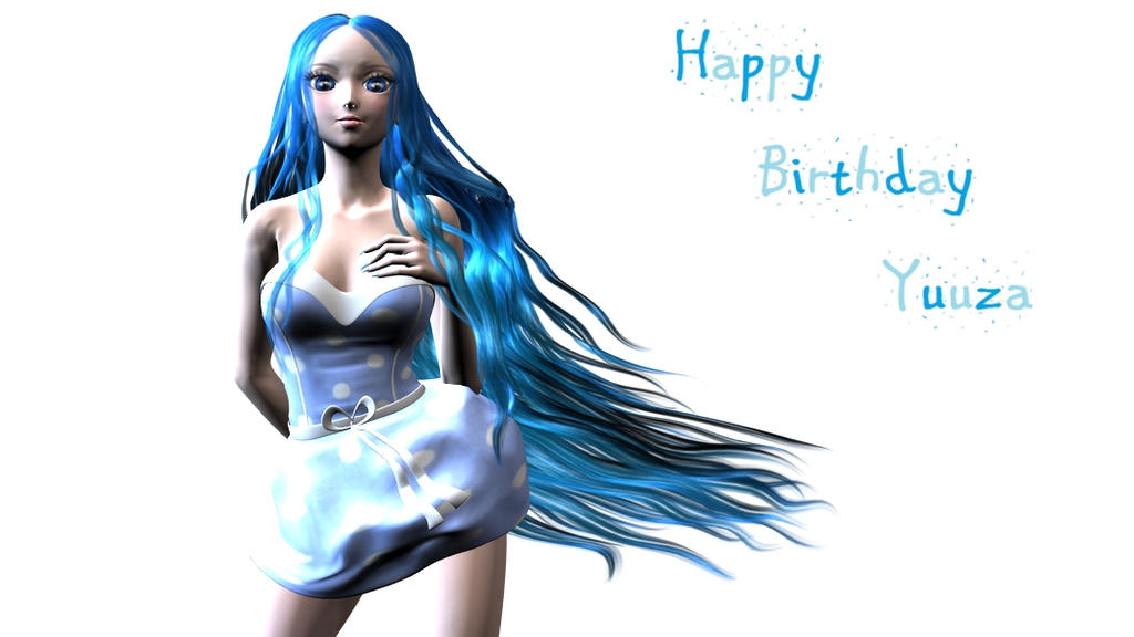 Happy Birthday Yuuza! by Nina3dgirl