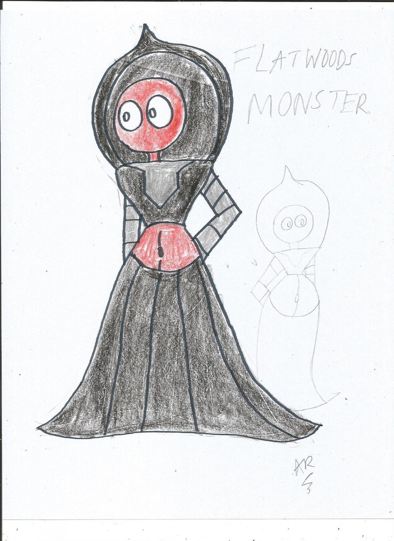 Francine The Flatwoods Monster By AustinDR On DeviantArt