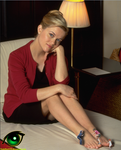 Reese Witherspoon getting a foot massage (request)