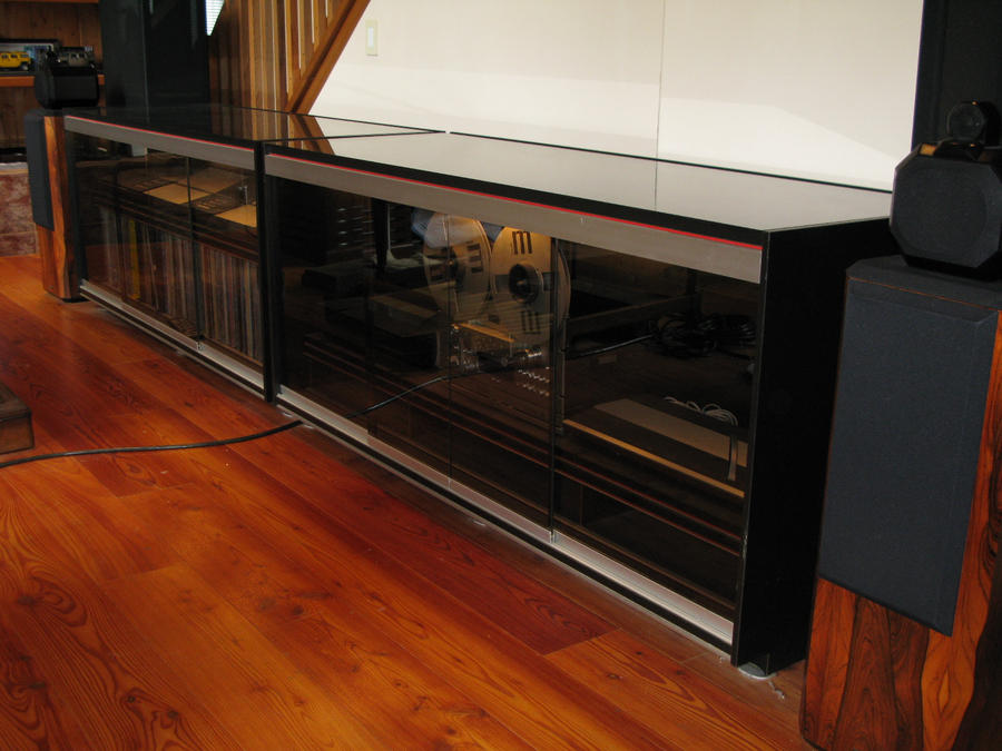 glass stereo cabinet 2