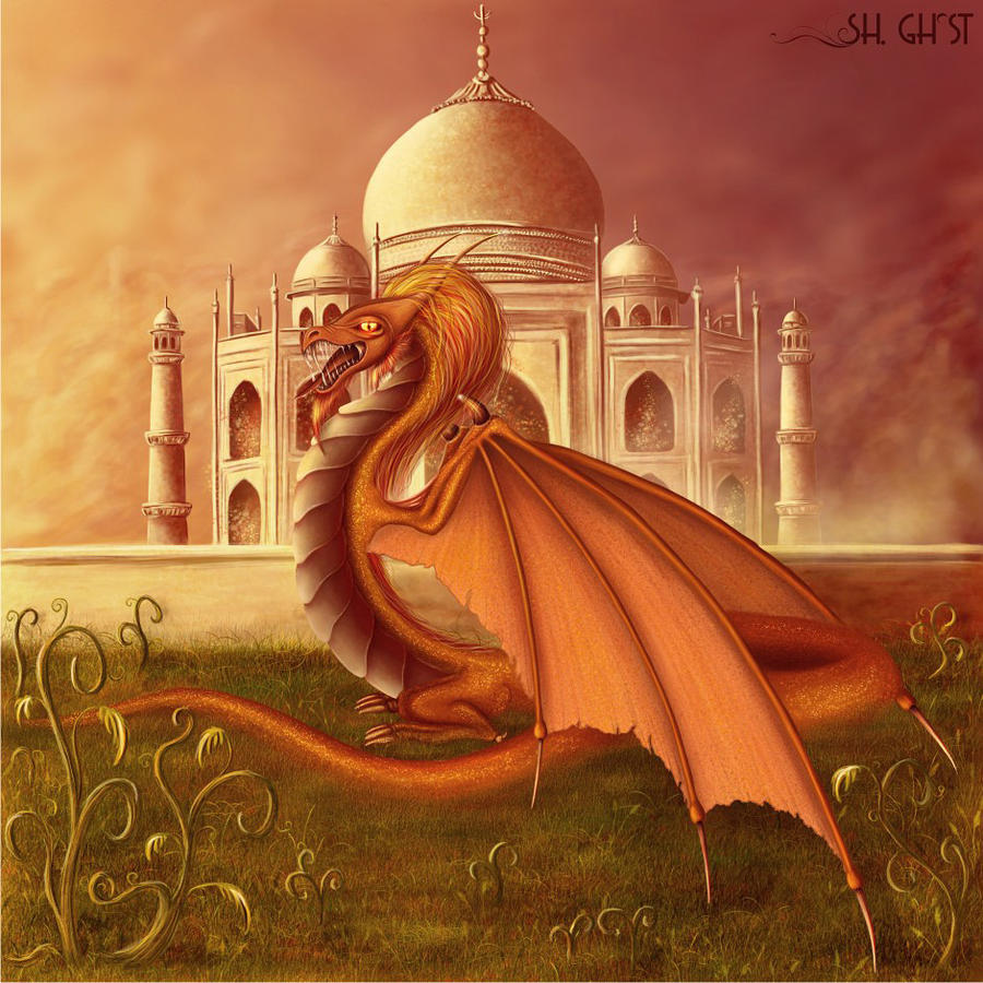 Indian Dragon By Lady Ghost On Deviantart