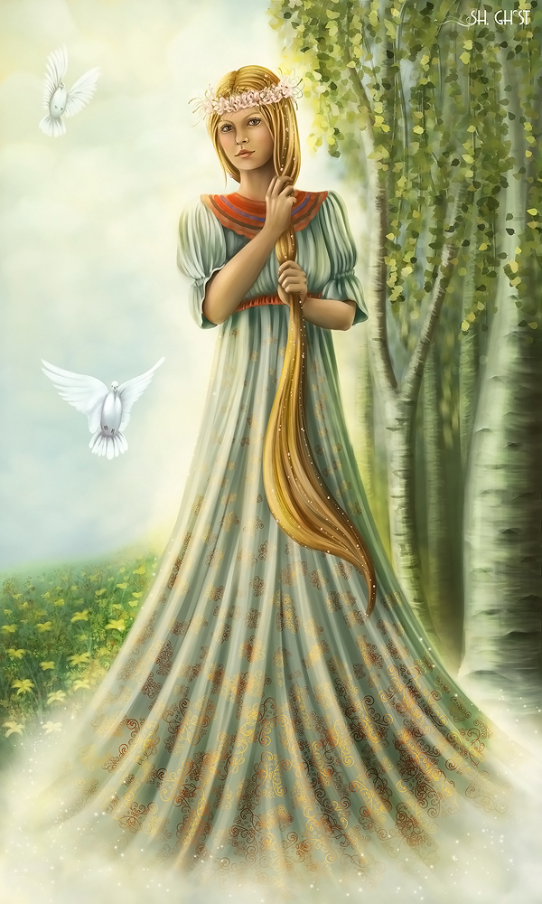 Goddess Lada by Lady-Ghost