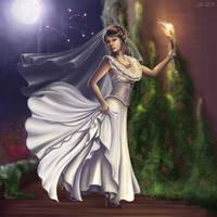 Runaway Bride by Lady-Ghost