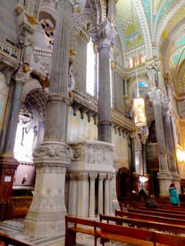 Basilica Interior of Lyon