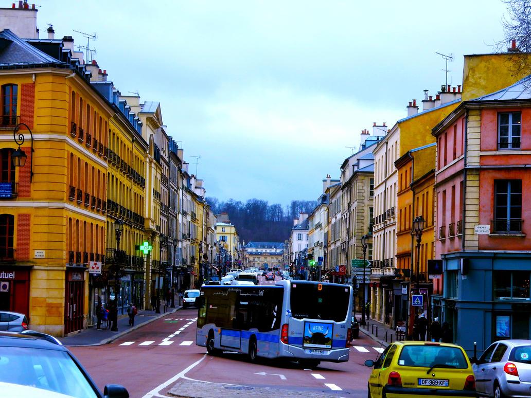 Versailles Street by MangekkoJones