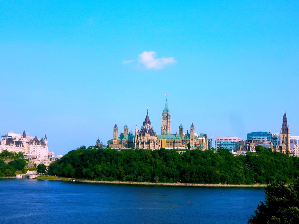 Parliament Hill by MangekkoJones