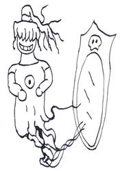 Ghost from Mirror by MangekkoJones