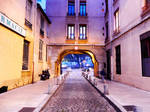 Evening in Lyon by MangekkoJones
