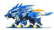 Custom zoid: Blade zero Jager by SilverWhitzWolf