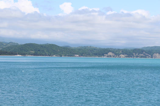 Black sea.  Pitsunda