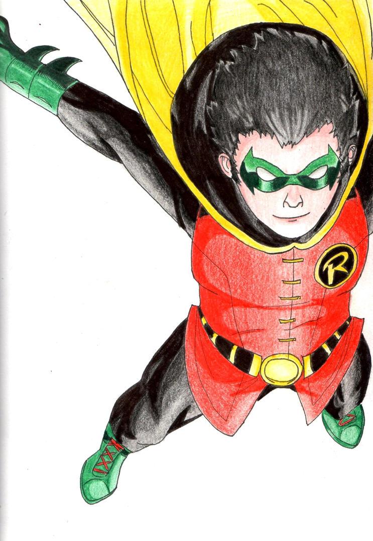 Damian Wayne by HoshiMichi