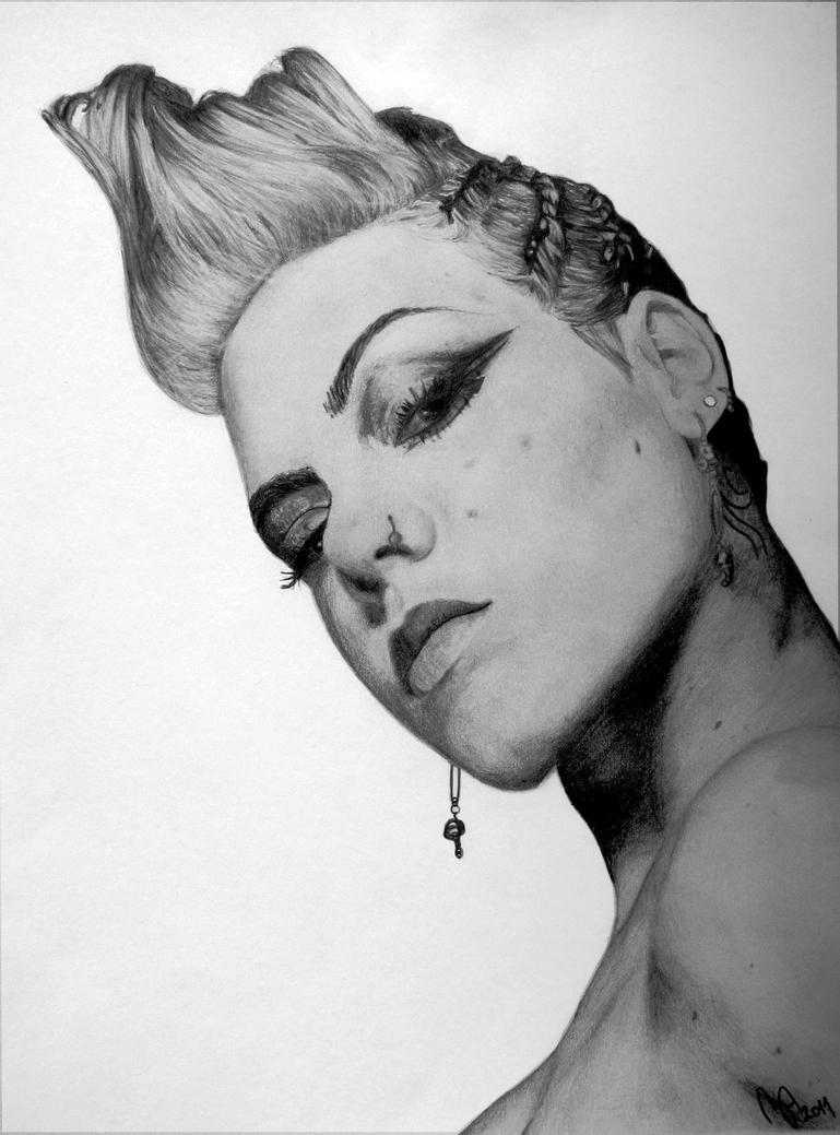 Pink 2 - portrait by XxMondayMorningxX