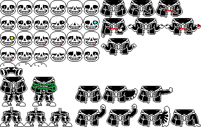 Sans Sprite Sheet By Papyron95 On Deviantart