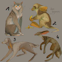 ADOPT OPEN - some creature by Otteriell