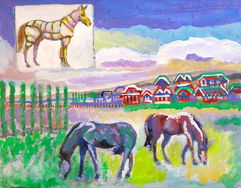 the wild horses of Dopaquel, scott richard by torbakhopper