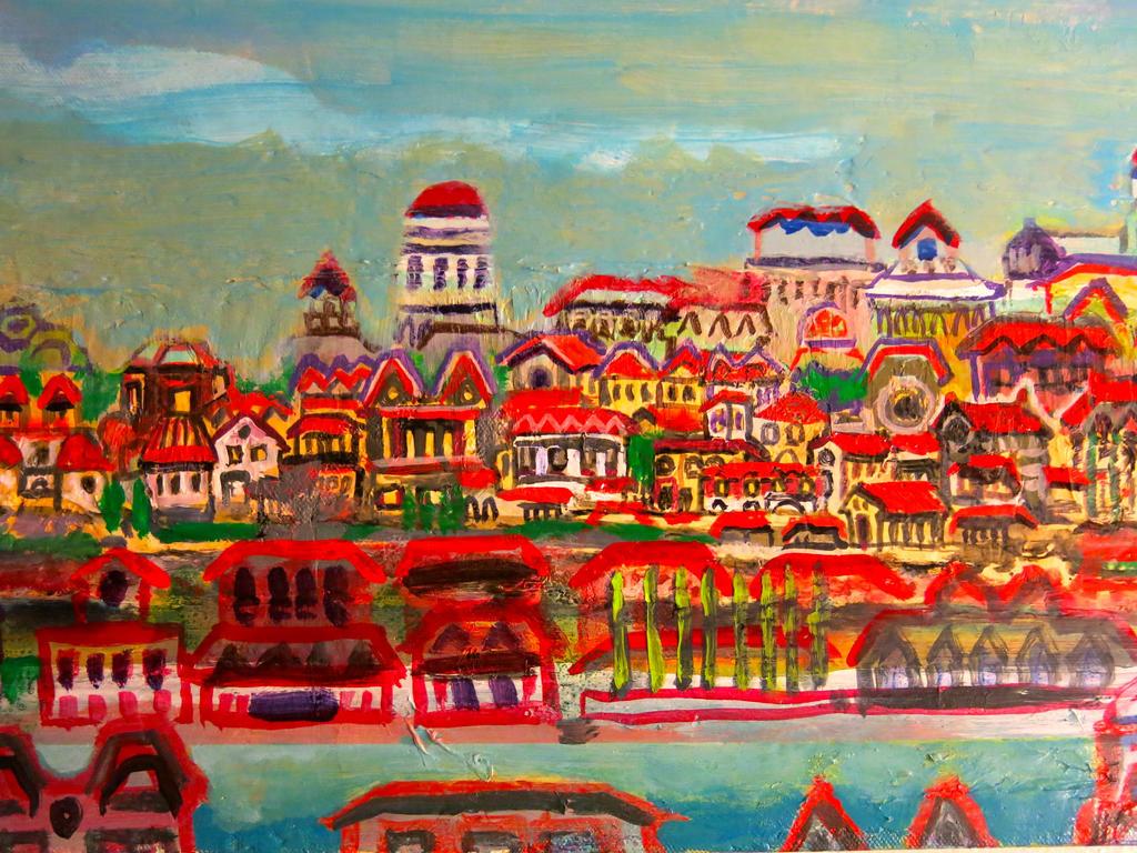 riverside town in Dopaquel, scott richard by torbakhopper