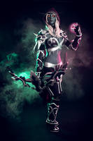 World of Warcraft cosplay: Sylvanas Windrunner by Kak-Tam-Ee