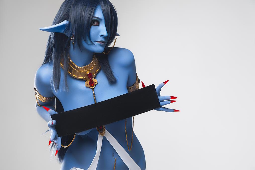 Magi: The Labyrinth of Magic: Piamon sexy cosplay by Kak