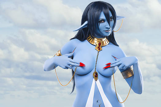 Magi: The Labyrinth of Magic: Piamon sexy cosplay