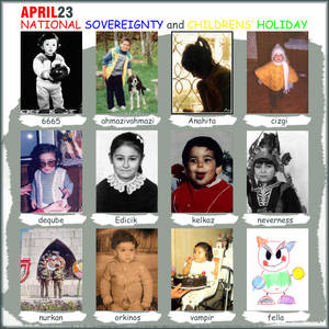 April 23 Childrens Holiday