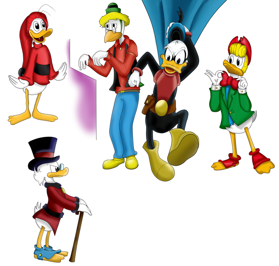 Ducking ducks by TheBadGrinch