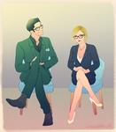 Dr. Lucifer Morningstar and Dr. Linda Martin
