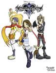KH : Yuna, Rikku, Paine