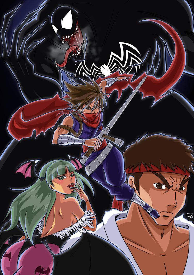 Marvel vs Capcom by tonyzuka