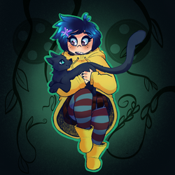 Coraline by JayRogueArtwork