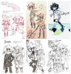 [WOE | Sketchdump] nightingales