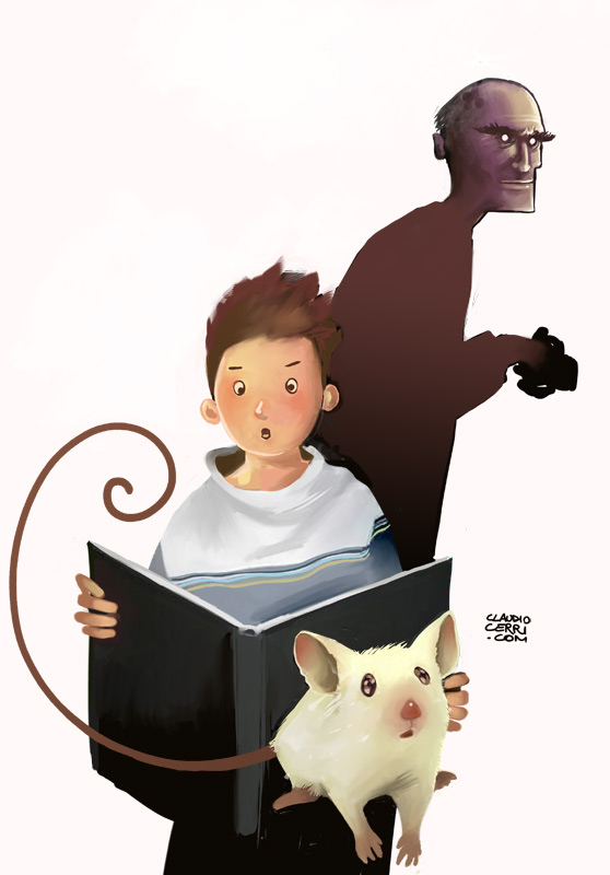 Concept for a children book by claudiocerri