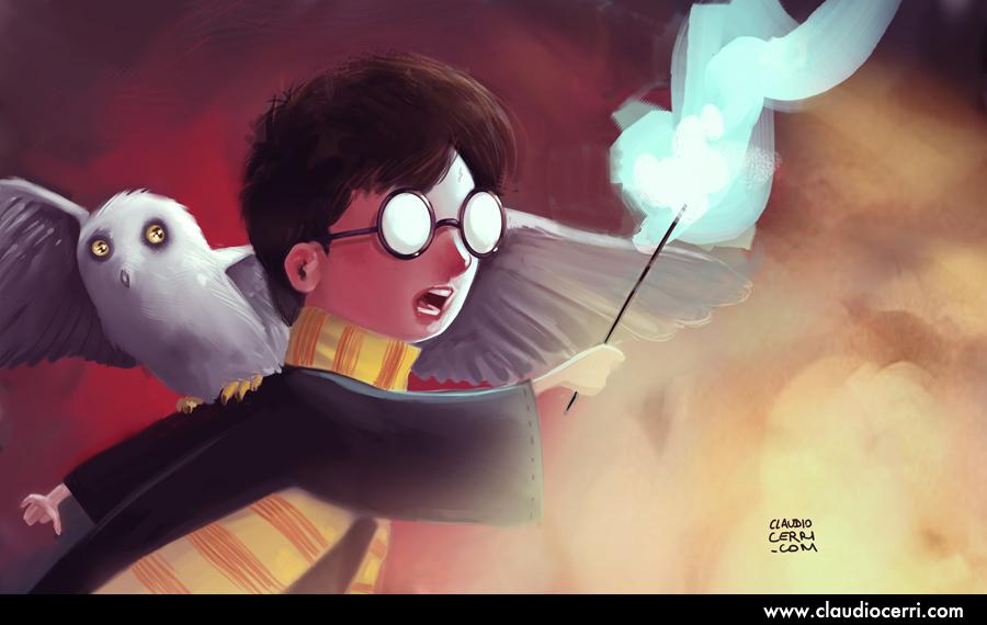 Harry Potter by claudiocerri