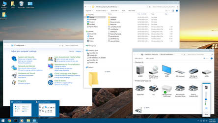 Windows 10 icons for Windows 7 - SS