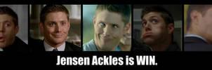 Jensen is WIN by CharlieDaye
