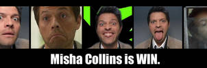Misha is WIN