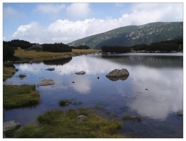 Mountain Lake by k-bug
